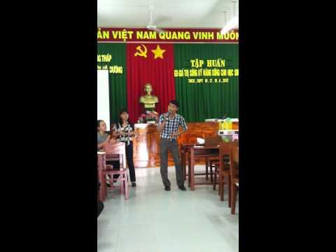 Tập huấn giáo dục kỹ năng sống cho học sinh THPTKT tại Tp c