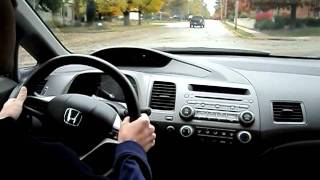2011 Honda Civic EX Test Drive