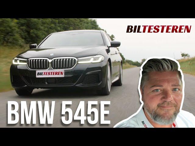 Prisbasker med 6 cylindre! BMW 545e (test)