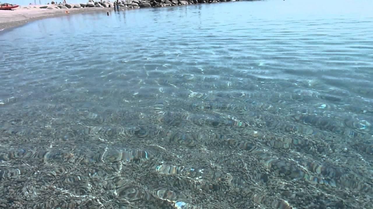 Roccella Jonica: il mare - YouTube
