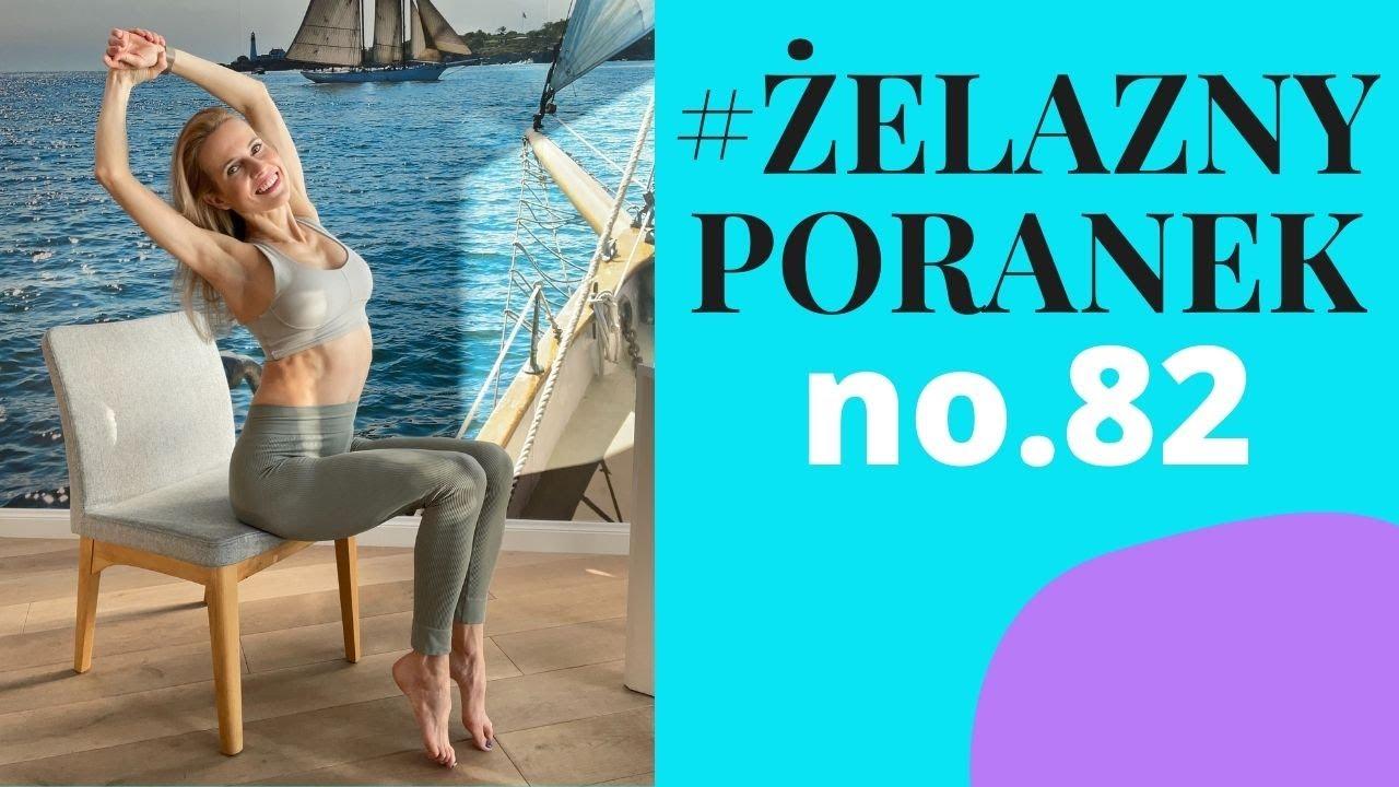 #ŻelaznyPoranek #82   Ćwiczenia oddechowe na krześle   Ola Żelazo
