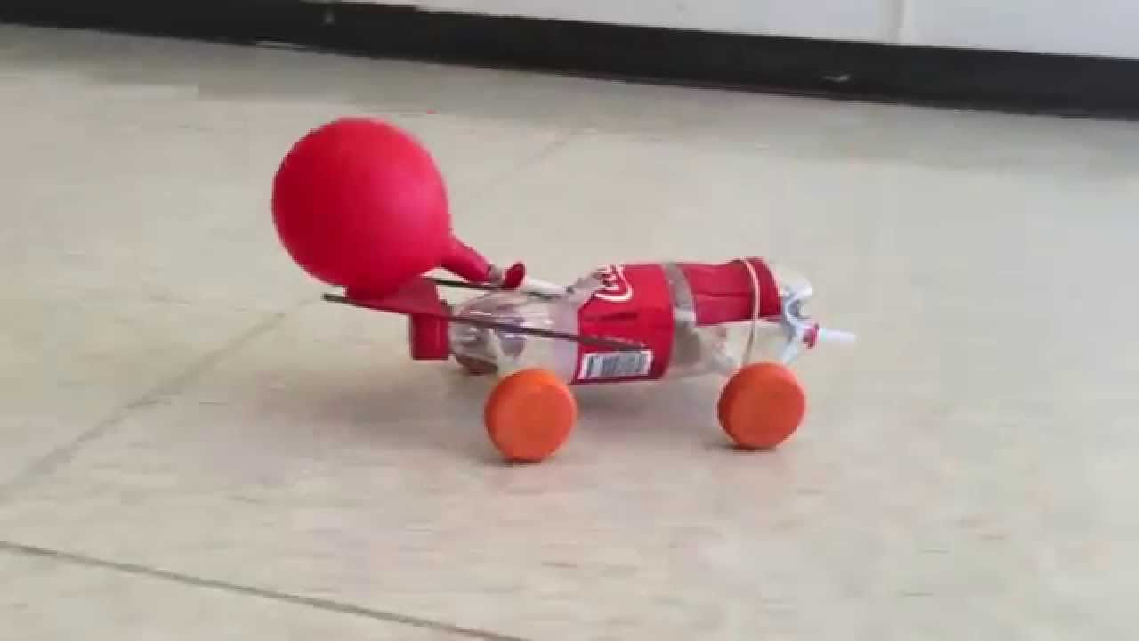 Pictures Of A Balloon Rocket Car 13