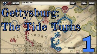 GETTYSBURG: THE TIDE TURNS - Union Campaign - Episode 1