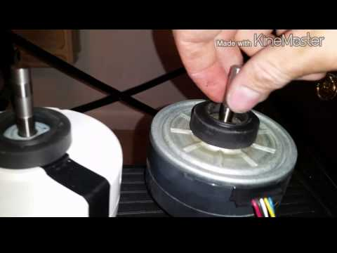 replaced fujitsu indoor fan motor and bearing youtube