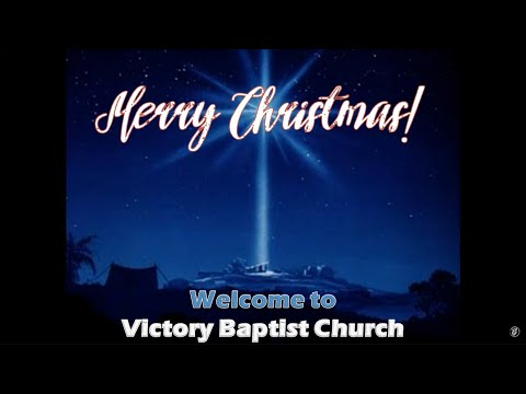 Great Joy! • Sunday Morning at Victory Baptist Church · 191215 · Pastor Jerome Pittman