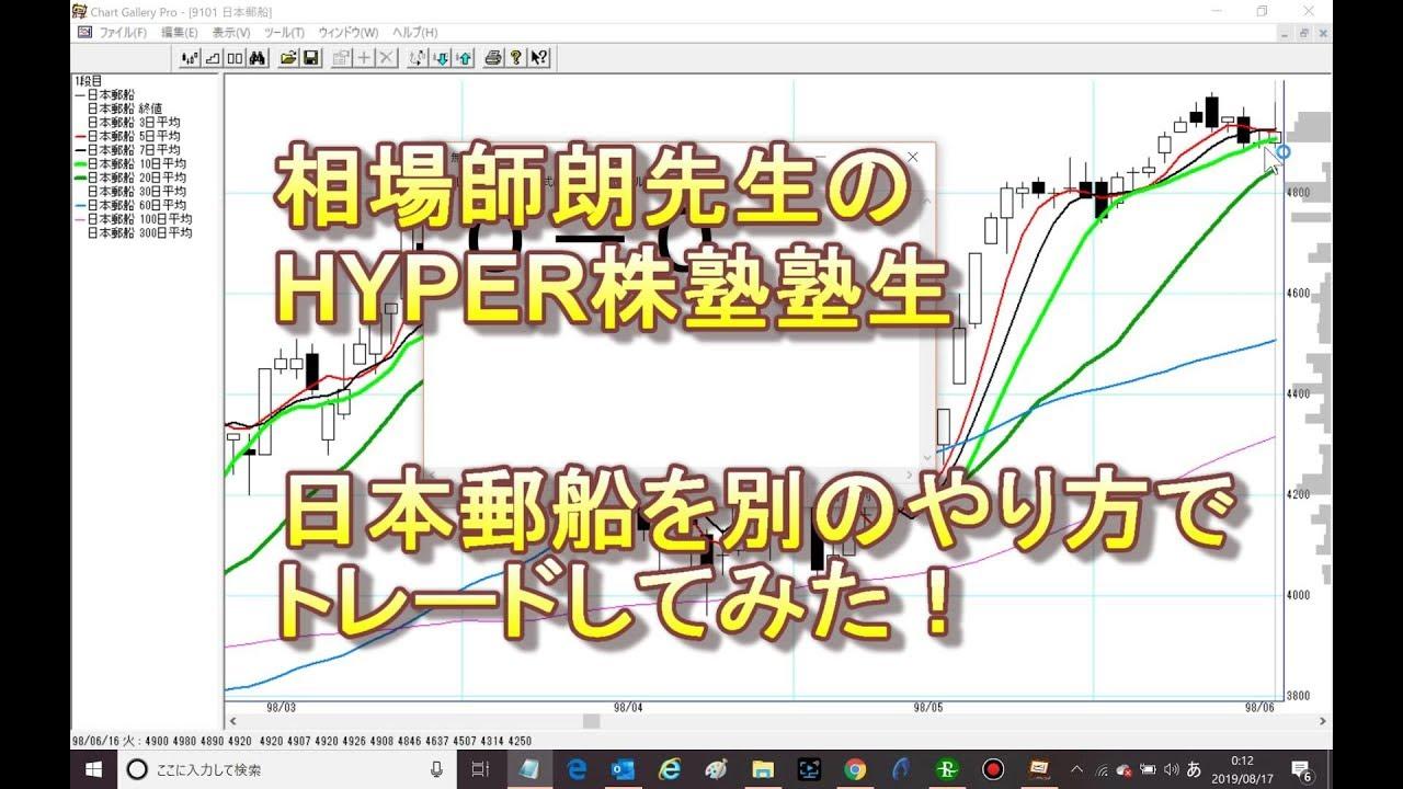 日本 郵船 の 株価