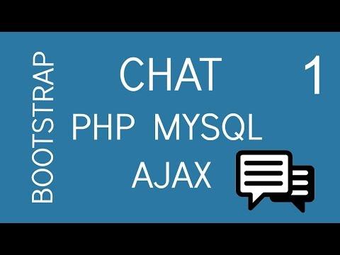 Como Hacer Un CHAT En PHP MYSQL AJAX 1