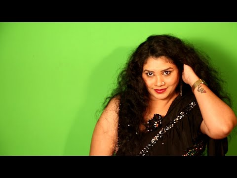 Amazing Black Saree fashion with Kalpana : New saree designs: IQUBE NETWORK: Sari sundari