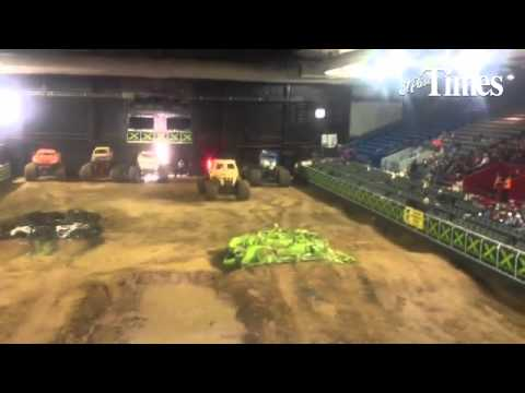 The Monster X Tour stops off at the El Paso County Coliseum Saturday. Six Monster trucks entertained
