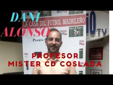 Balon a Tierra. Programa numero 78 Entrevista a Dani Alonso Mister del CD COSLADA