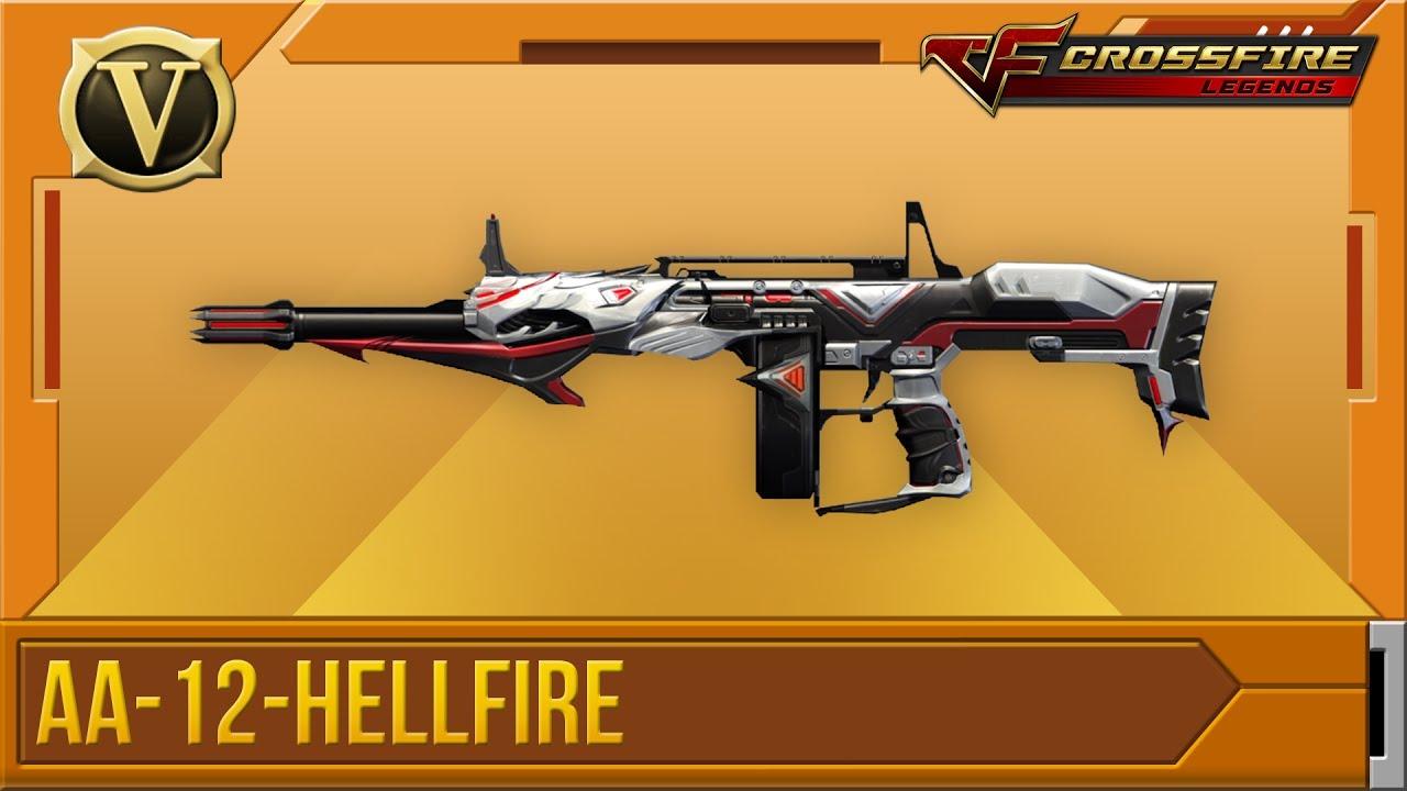 Crossfire: Legends | Tổng quan AA-12-Hellfire (VIP)
