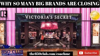 Why Are So Many Major Brand Stores Closing? - Victoria Secret, Payless,Gap,JCPenny,Amazon,Wal-Mart