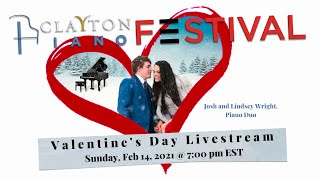 Clayton Piano Festival Valentine's Day Livestream