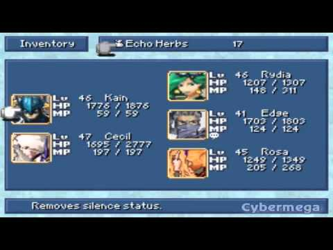 Final Fantasy 4 Ds Part 34 Sylph Cave Youtube