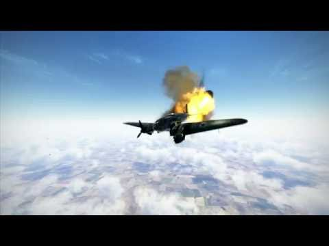 IL2: Battle of Stalingrad Crashes, Kills and Explosions part 1