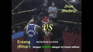 Pencak Dor Enting VS Jhon Brenggolo
