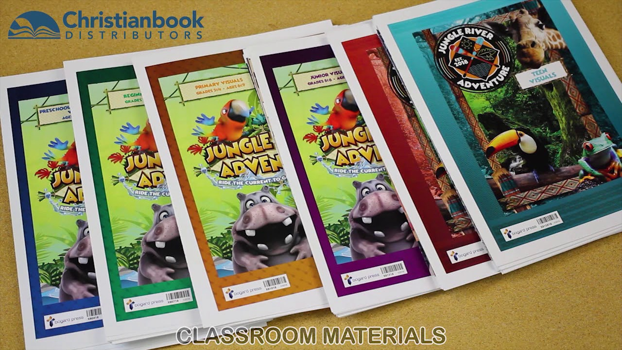 Jungle River Adventure VBS 2018 - Sample Kit Unboxing ... Christianbook.com/vbs