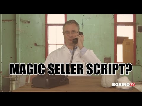 Magic Seller Real Estate Script? Ask Borino