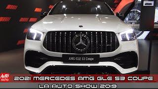 2021 Mercedes AMG GLE 53 Coupe  - Exterior And Interior - LA Auto Show 2019