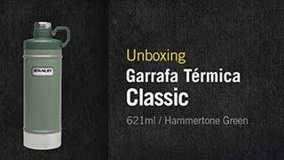 Unboxing Stanley – Garrafa Térmica Classic 621ml