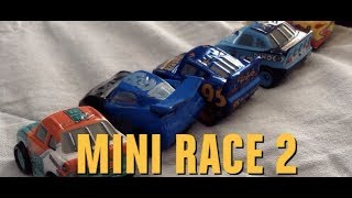 Disney Cars Mini Racers Stop-Motion Race #2!