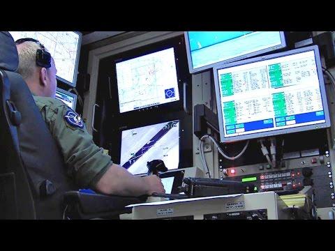Air Force Pilots Flying MQ-1 Predator Drones