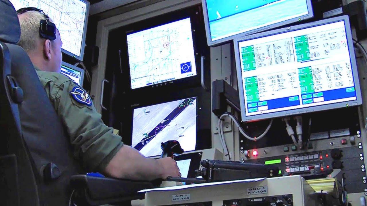 Air Force Pilots Flying MQ 1 Predator Drones