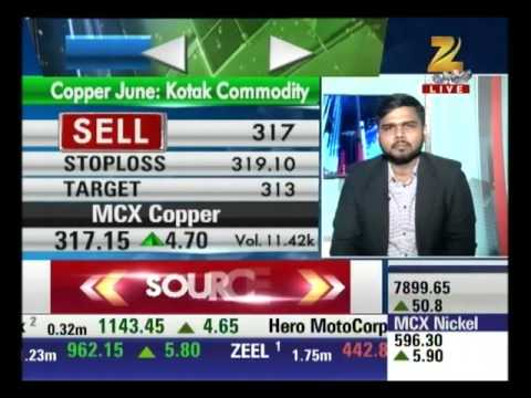 MCX Copper is up by 1.48% : Mandi Live