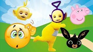 Teletubbies Bing Bunny Paw Patrol Finger Family Nursery Rhyme Funny Story! Paw patrol full episodes