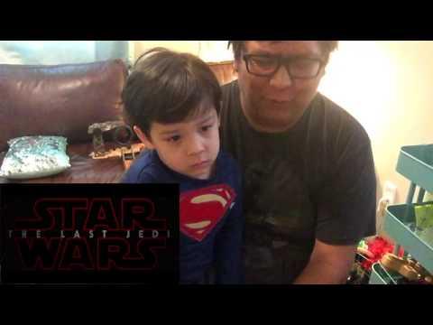 KGBE The Last Jedi Teaser Reaction