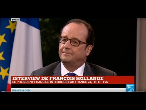 REPLAY - Interview exclusive de François Hollande