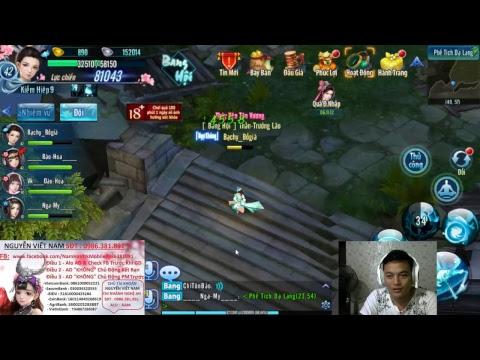 Nam Hà VLTK Mobile - Live sv 306 Bang - Thần - và Thi Đấu Môn Phái