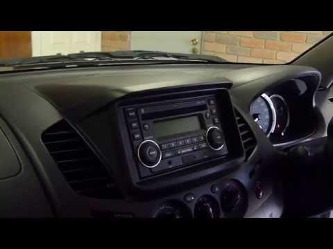 Mitsubishi L200 Wiring Diagram Mitsubishi Triton 2014 Audio Replacement Youtube