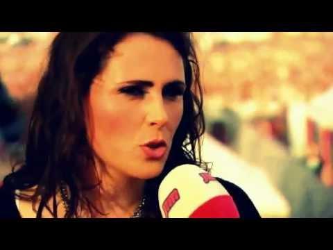 Rock Werchter - Interview Sharon den Adel (Dutch)