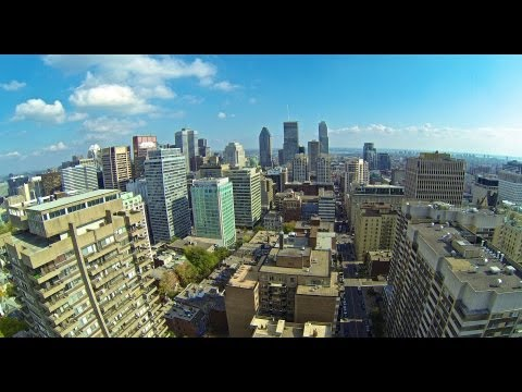 Downtown Montreal Aerial Views