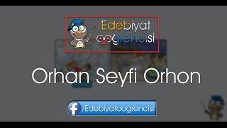ORHAN SEYFİ ORHON ESERLERİ (11 ESER)