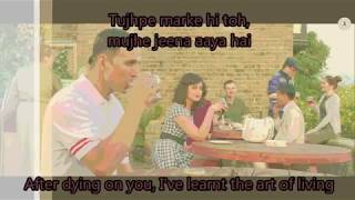 Tere Sang Yaara Lyrics with English Translation | Rustom (2016) | Atif Aslam