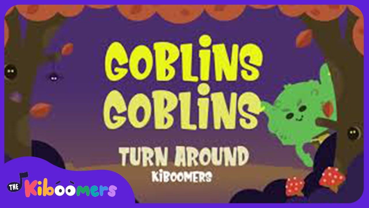 Goblin Goblin Turn Around | Halloween Songs for Kids | The Kiboomers | Halloween for Toddlers