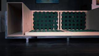iron sofa. мебель в стиле лофт. часть первая. каркас. timelapse.