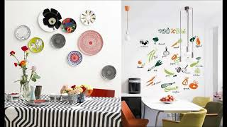 35 классных идей  декора стен на кухне