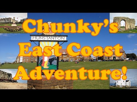Chunky's East Coast Adventure Part 2: Hunstanton, Norfolk