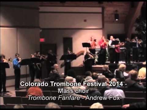 Colorado trombone Festival 2014 - Mass Choir