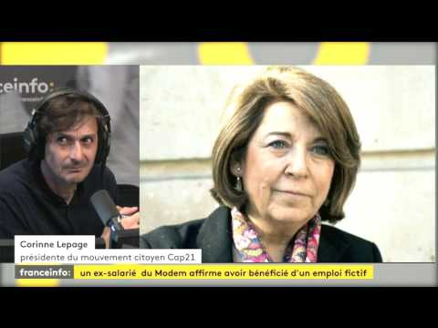 Corinne Lepage, ancien membre du MoDem - suspicion emplois fictifs des Parlementaires du MoDem
