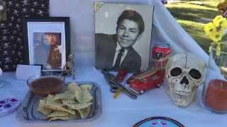 Dia de los Muertos celebration at South Lawn Cemetery