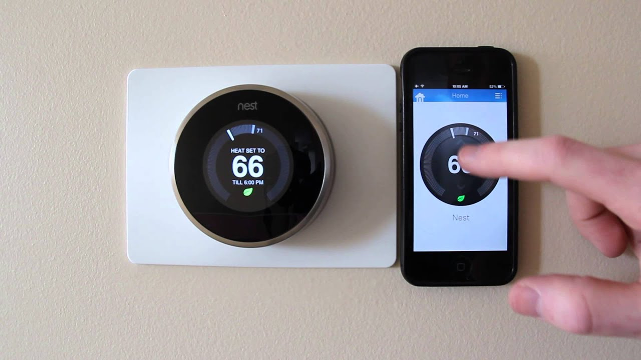 Nest Thermostat 2nd Gen Home Review Youtube