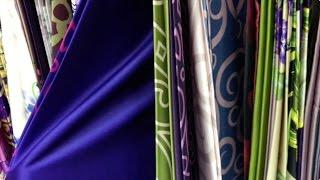 видео Ткань Атлас оптом (от рулона)