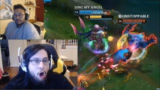 Imaqtpie Dodges Warwick Like In Matrix | Aphromoo's Great Baron Attempt | Shiphtur's Great TP | LoL
