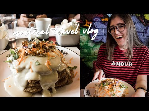 Montreal Vlog Day 2 | Eating So Much Amazing Food