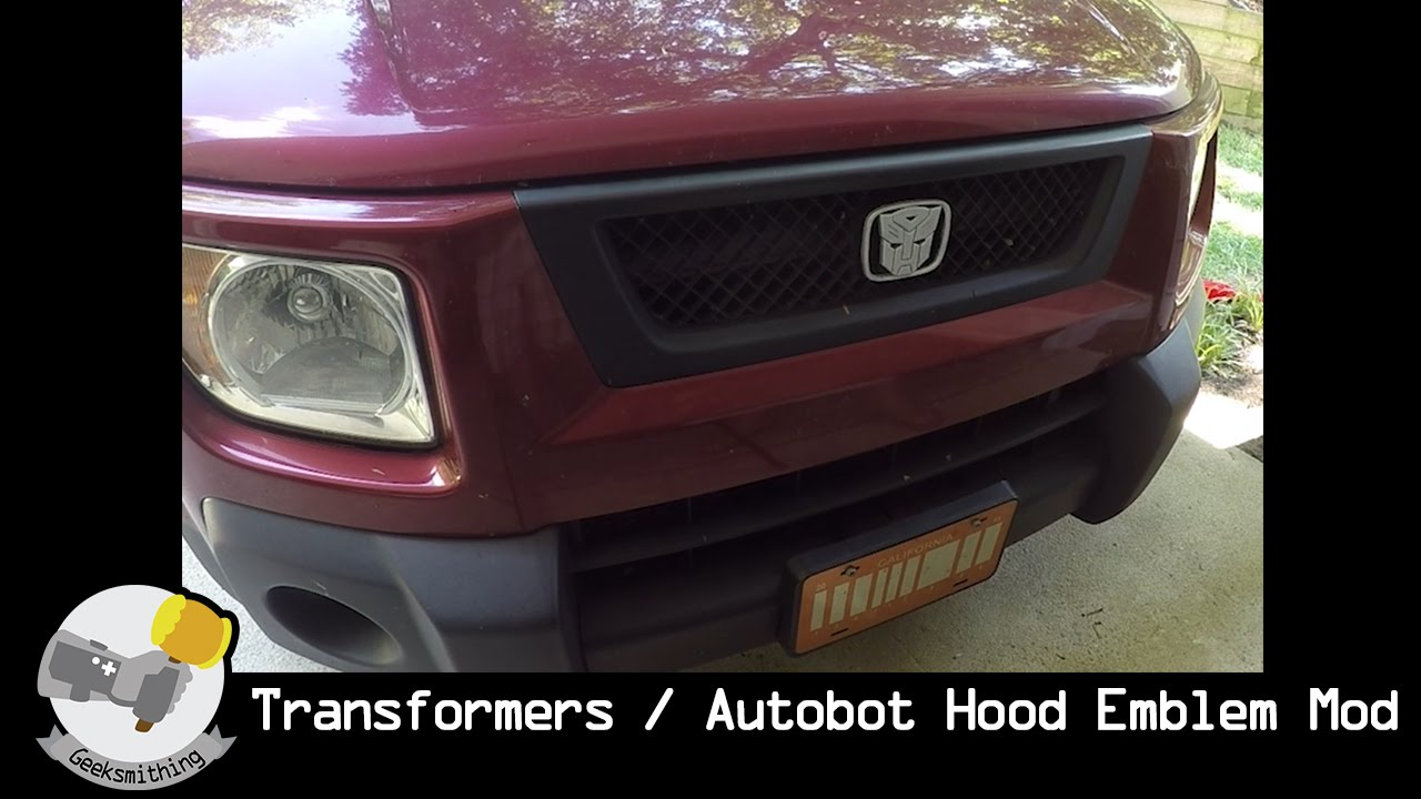 Transformers/ Autobot Hood Emblem Car Mod // LET