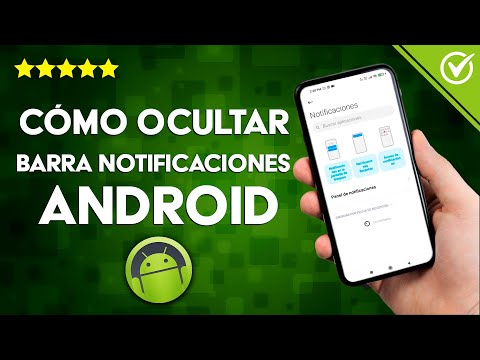 Cómo Ocultar la Barra de Notificaciones y de Estado en Android